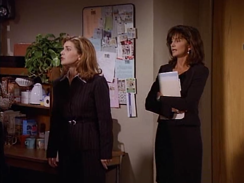 Roz Doyle and Kate Costas